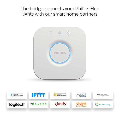 Philips Hue Smart Hub  Compatible With Amazon Alexa  Apple