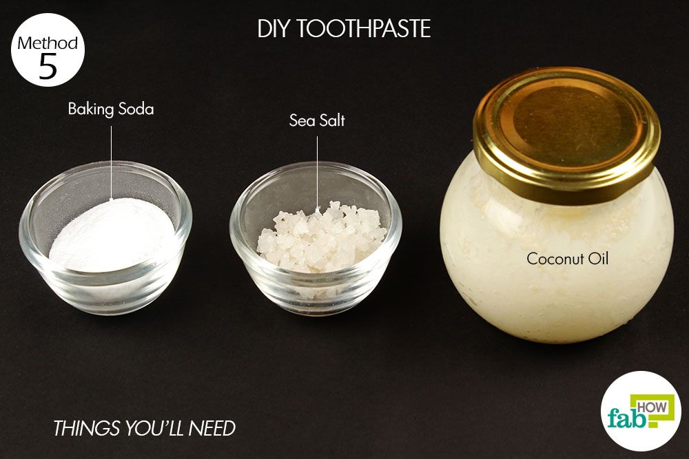 Diy toothpaste to get rid of cavity things need heal