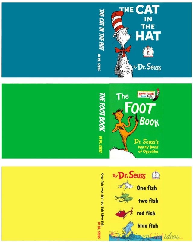 Dr. Seuss Day books • American Girl Ideas   American Girl Ideas