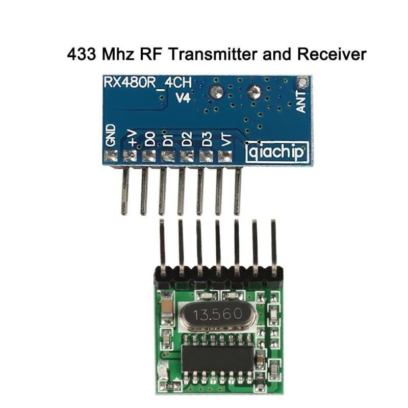 Wireless 433mhz Rf Wl102 341 Transmitter And Rx470 4 Superheterodyne Receiver Remote Control Switch Module Set Aam Online Shopping Store Transmitter Remote Control Superheterodyne Receiver
