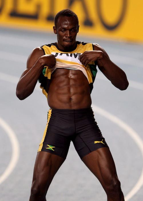 96b43c2f025119 Usain Bolt Height Weight Body Statistics | Sportsperson | Usain bolt ...