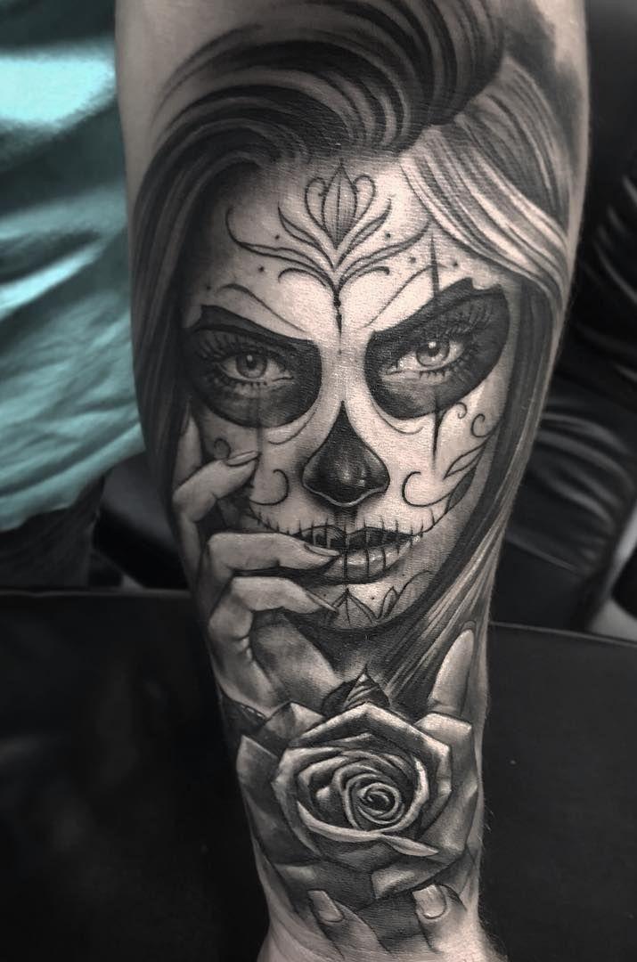 Pin De Laura Silva Perez En Ff Catrinas Para Tatuar Tatuajes De Calaveras Mexicanas Disenos De Tatuajes Para Hombres