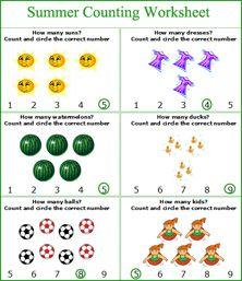 Summer worksheets, Summer math activities for kids, summer ...