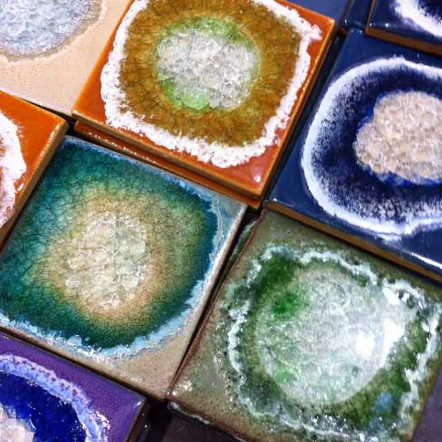 Sliced geodes to make coasters. Way cool (With images ...