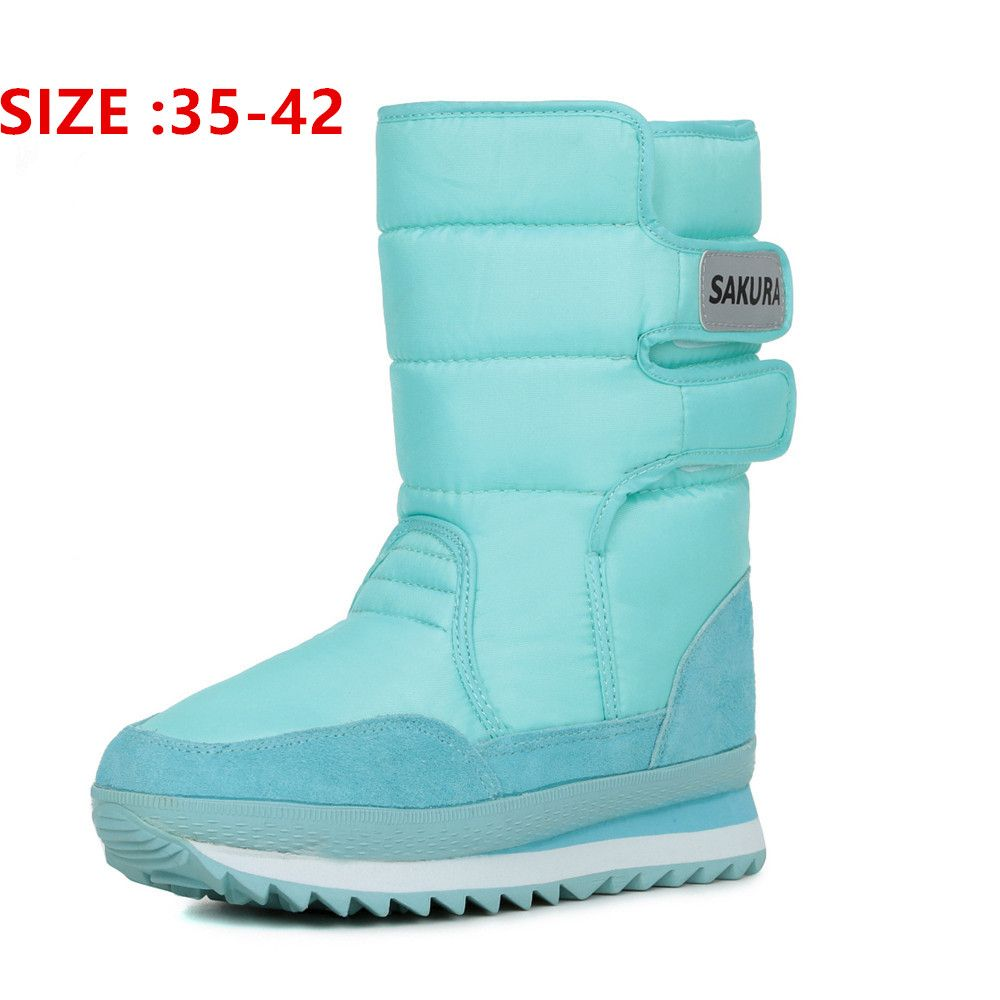 Kobieta Buty Cieple Buty Zimowe Damskie Kolorowe Snieg Boot 2016 Moda Nowosci Boots Snow Boots Women Warm Winter Boots Women