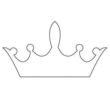 Krone Vorlage Pdf Zum Ausdrucken Kribbelbunt 7