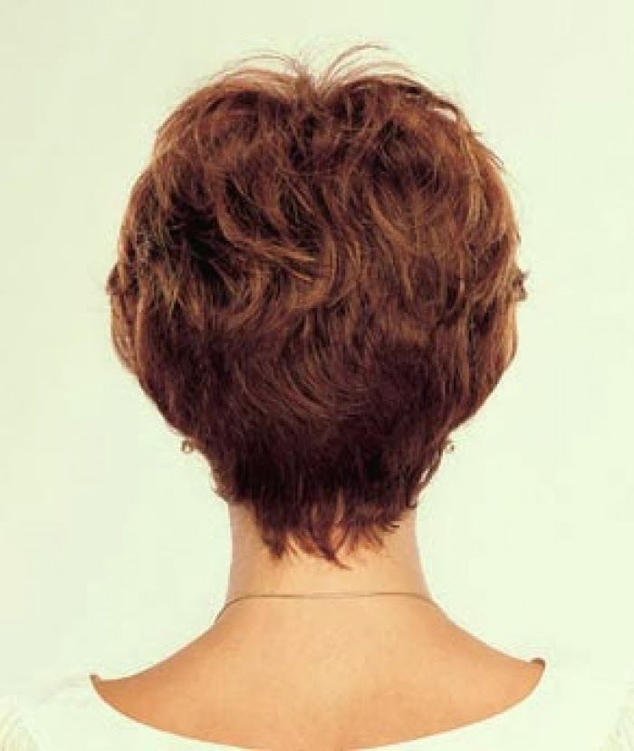 Short Hairstyles Back View Newest Short Hair Back View Short Hair Back Short Stacked Hair