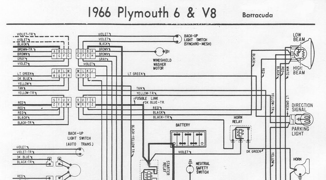 Diagram Based 1967 Plymouth Fury Engine Diagram Completed