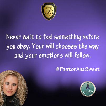#7DaysOfGlory #7DG #Day1 with #PastorAnaSweet #HonorIsTheKey #Tuesday01 #July #2014