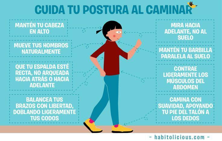 Cuida tu postura al caminar   Prevención de Riesgos