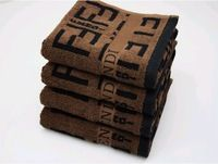 Luxury !! 100% Cotton 35cmx75cm 110g Thickened Soft Face Towel Adults Brown Colorfast Good Water Imbibition Washer Towels