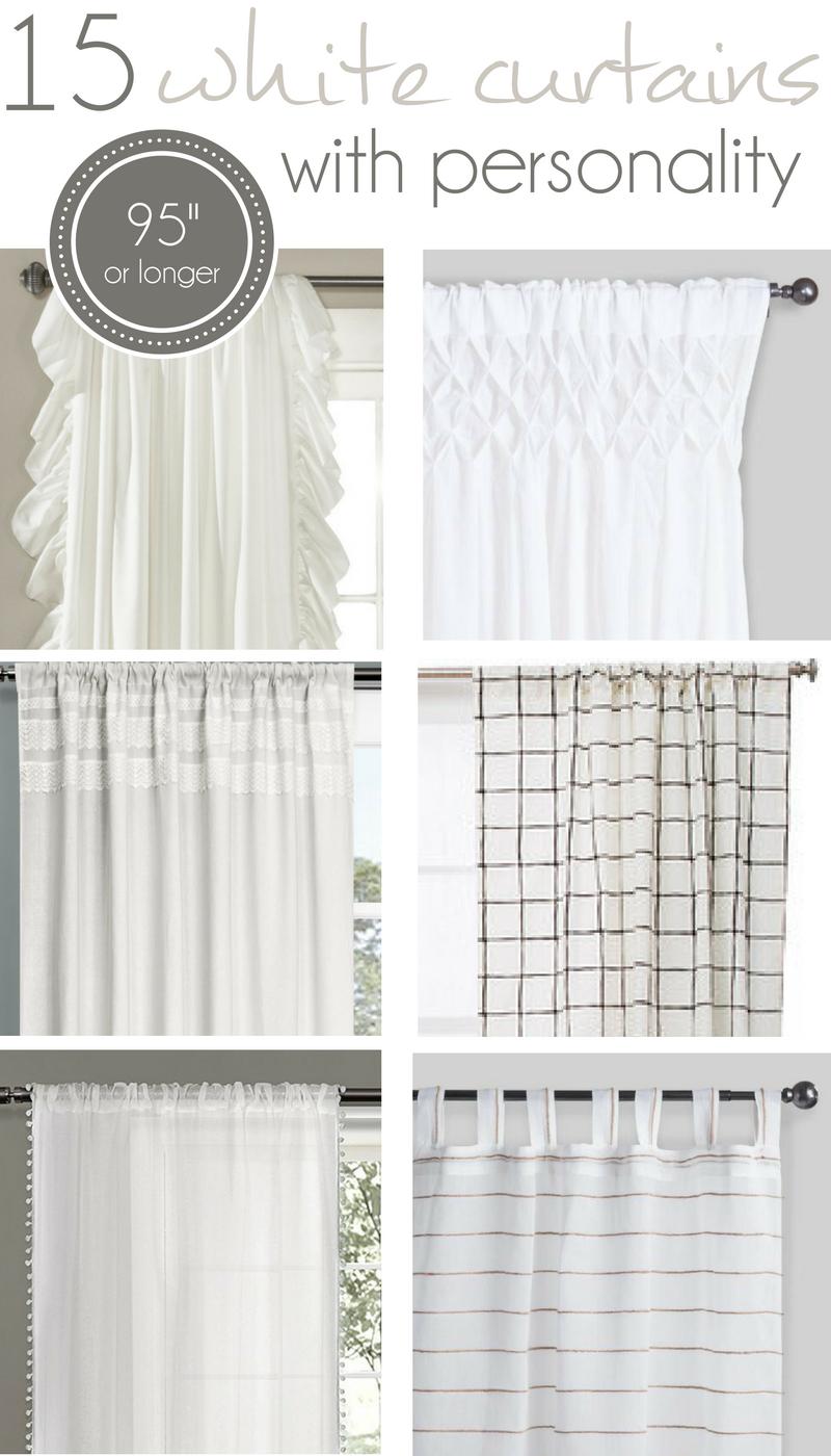 15 Long White Curtains 95 Part 89