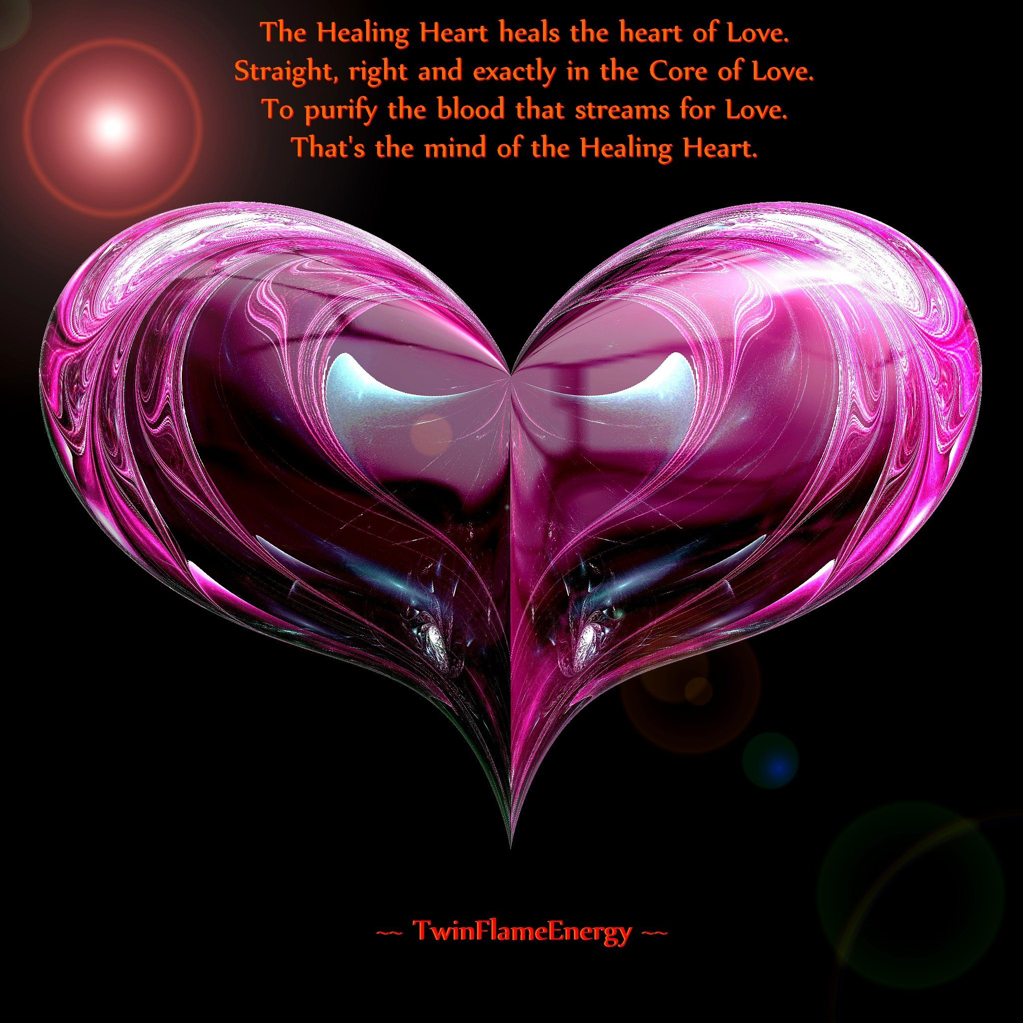 Healing Heart (twin flame energy) | Twin Flames Love | Twin