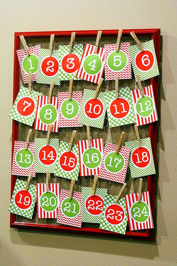 free_printable_advent_calendar #Christmas # ...