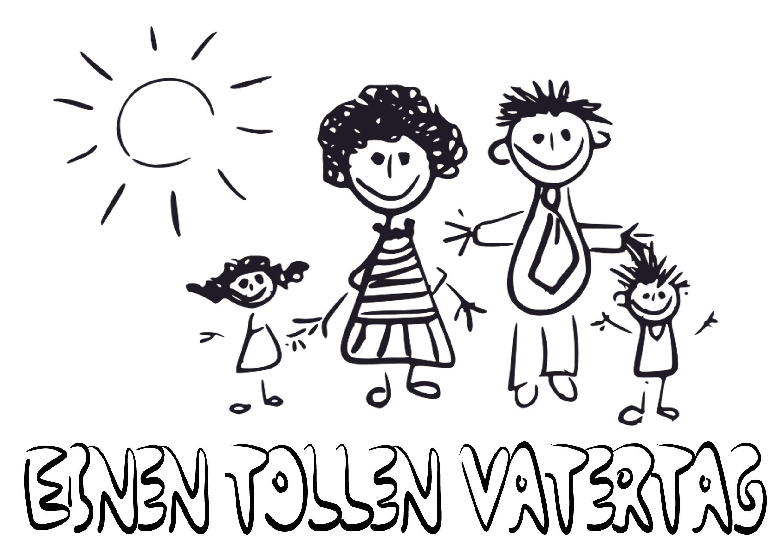 Vatertag Ausmalbild 1: Bilder kostenlos downloaden & ausmalen ...