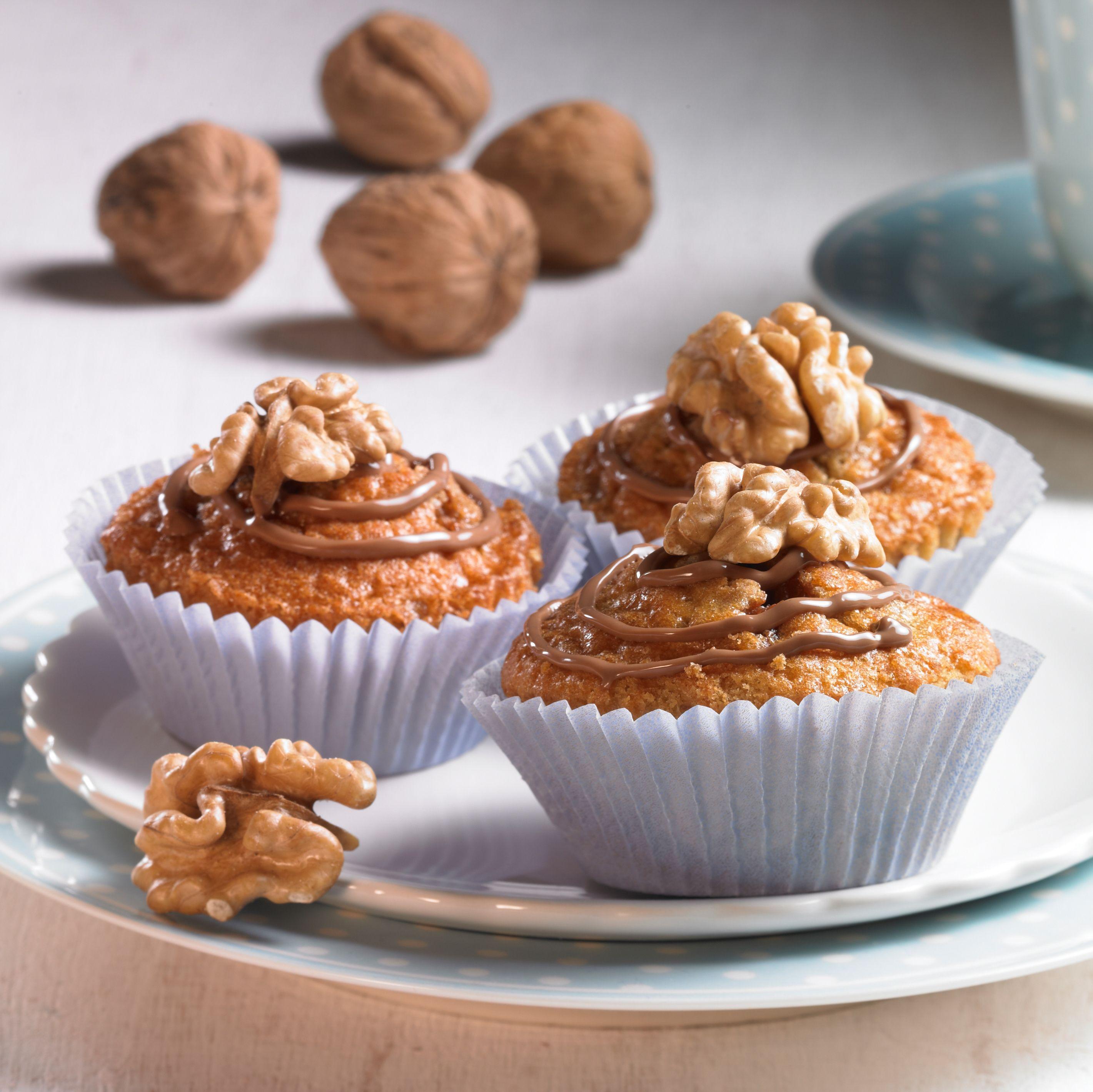 Walnuss Schoko Muffins