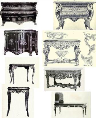 Merveilleux Louis XIV Furniture