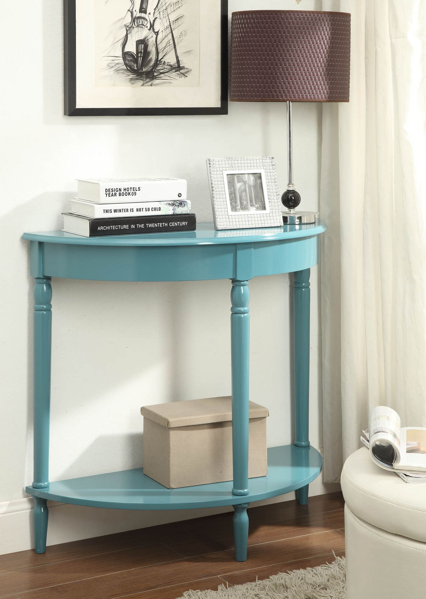Carlisle Half-Circle Console Table
