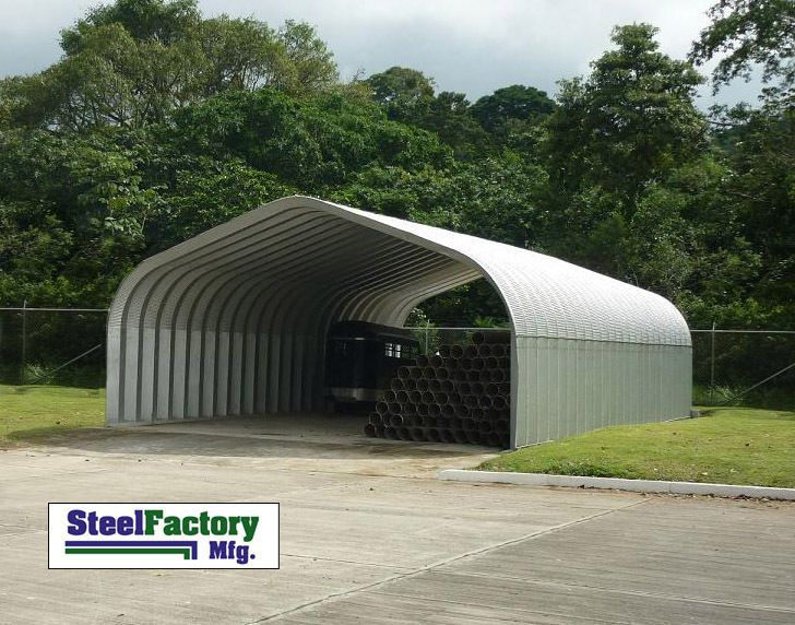 Steel residential carport 30x50x14 pitched roof metal building steel residential carport 30x50x14 pitched roof metal building clearance prices diy garage solutioingenieria Image collections