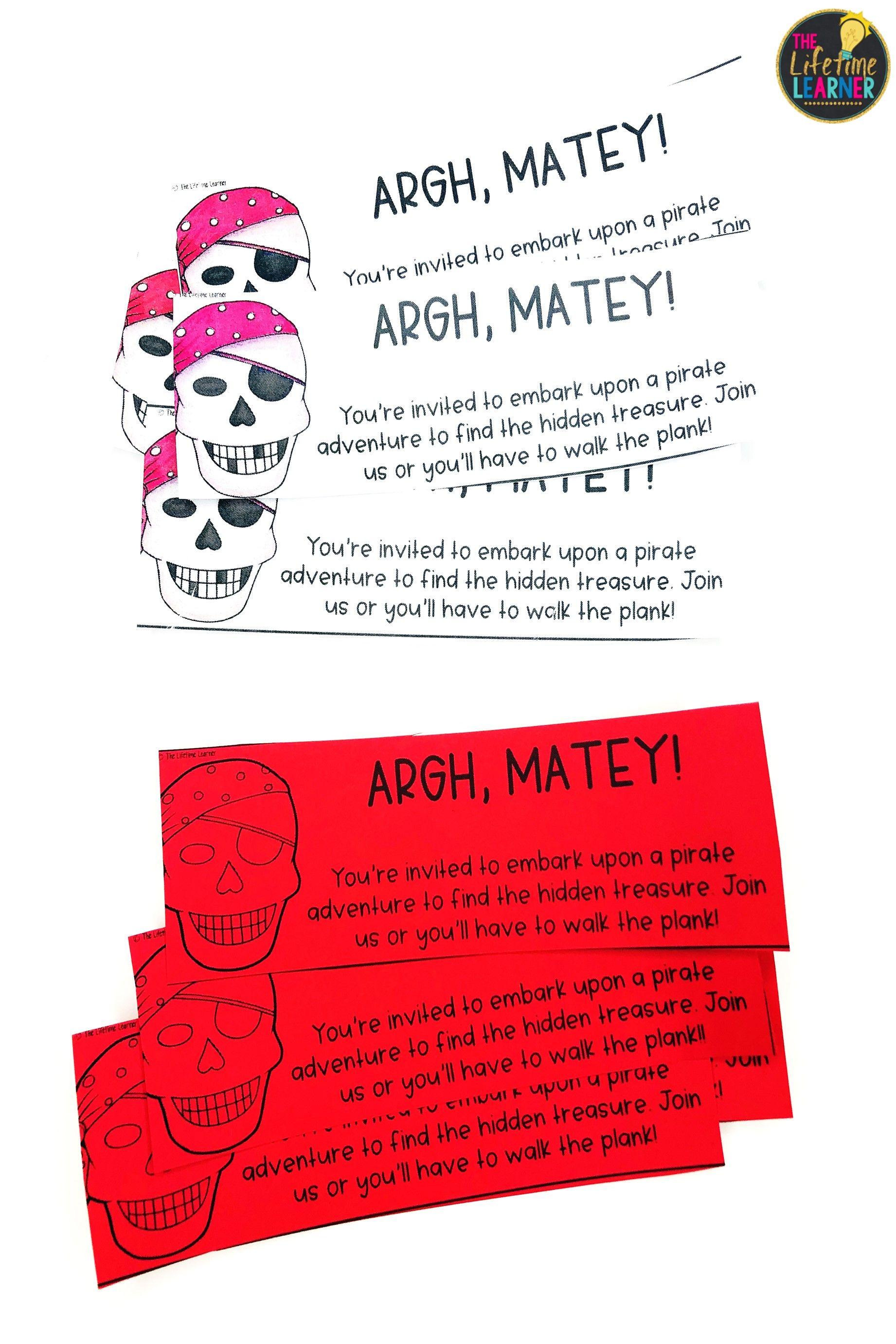 Third Grade Pirate Classroom Transformation