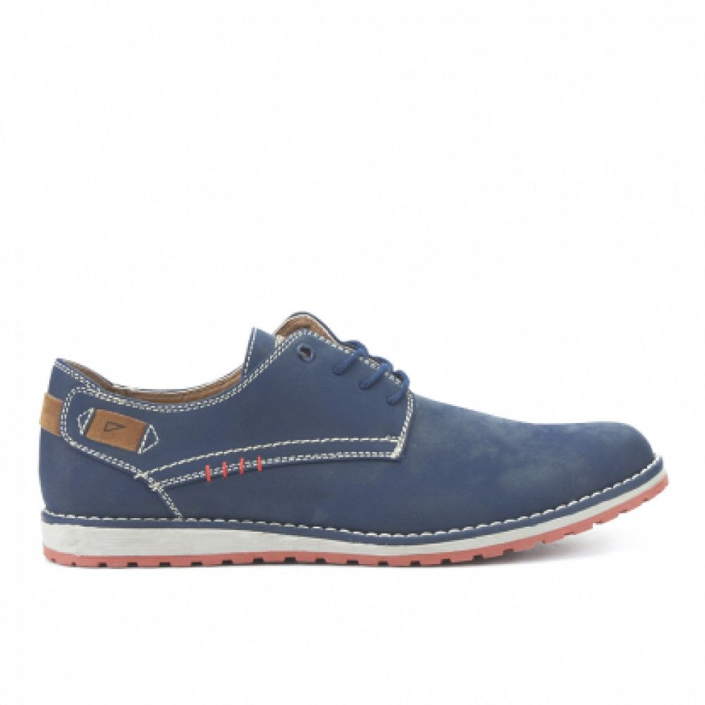 Zapatos azules casual Trappeur MosfFUb