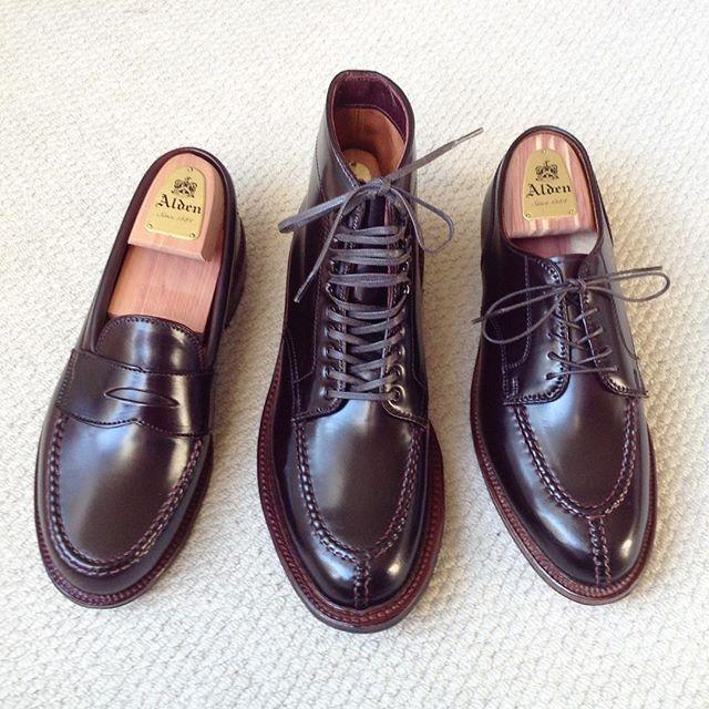 9b85884cc5a waikiki52 My favorite Alden  8 Cordovan Handsewn   Antique Edge Shoes    40218HC Norwegian Split Toe Boot   Alden D5601 Norwegian Split Toe Blucher    M6201Y ...