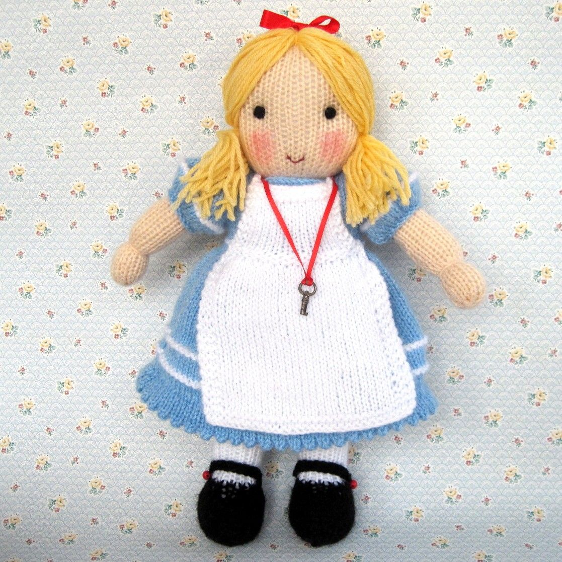 Alice in wonderland doll knitting pattern instant download alice in wonderland doll knitting pattern instant download bankloansurffo Image collections
