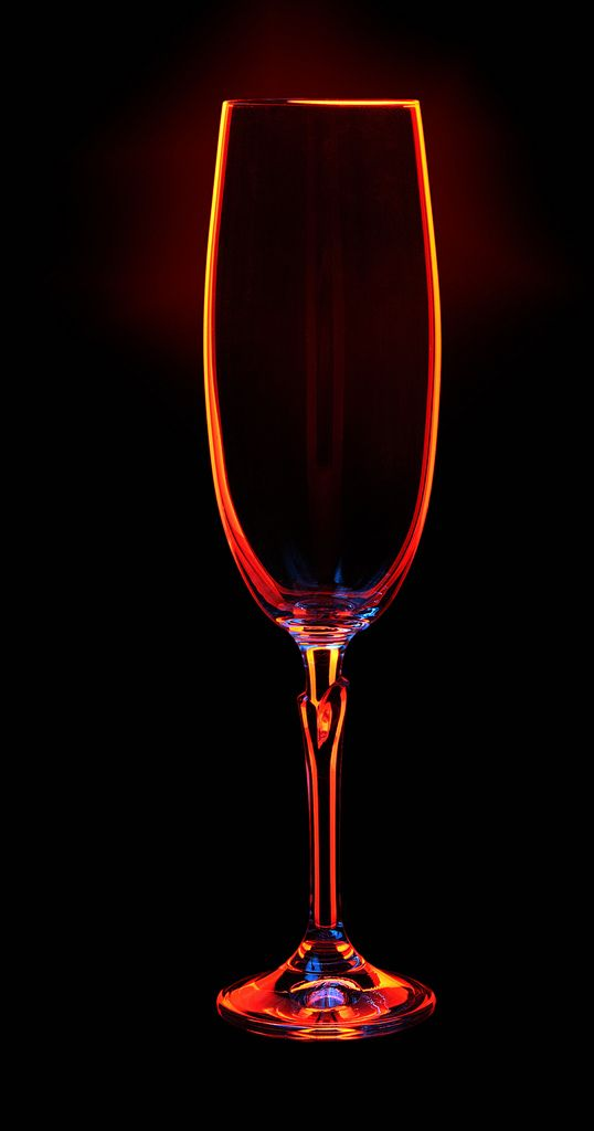 Champagne Glass On Dark Background Glass Photography Abstract Photography Light Painting