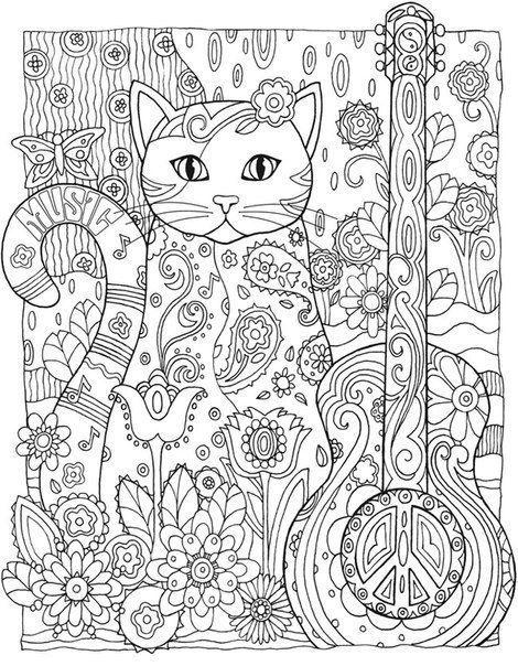 Раскраска-антистресс | Раскраски с животными, Книжка ...