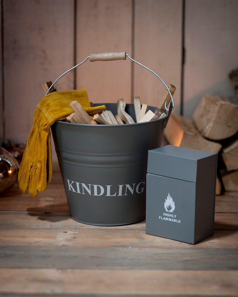 Garden Trading Ash Bucket Slate by Garden Trading