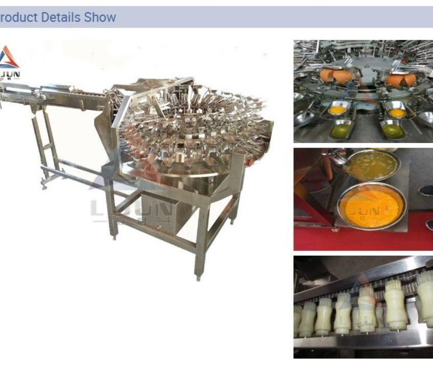 China Jiangsu Egg Breaking Machine