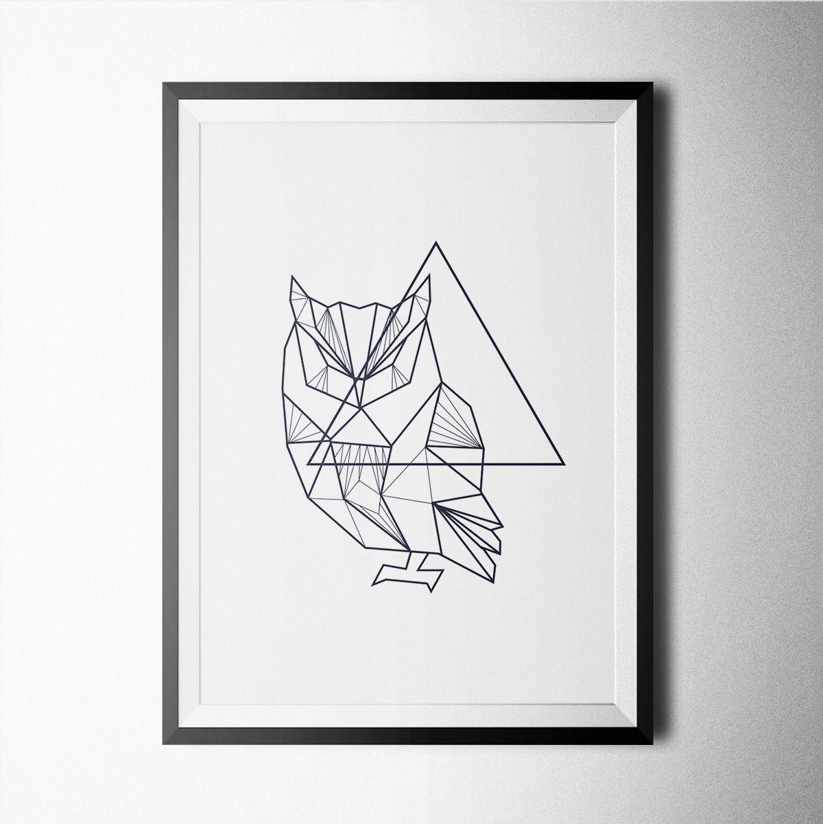 Minimal Owl Logos Google Search Tatts Pinterest Geometric