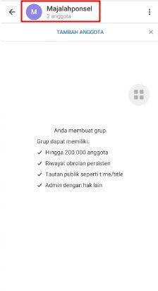 cara hapus grup di telegram