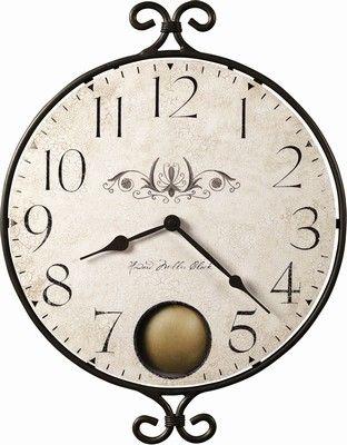 Howard Miller Randall Clock Distressed Wall Clock Wall Clock Pendulum Wall Clock