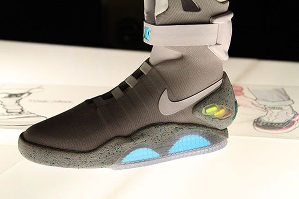 watch 6676d 73963 exactly fit nike air mag aka marty mcfly black newest