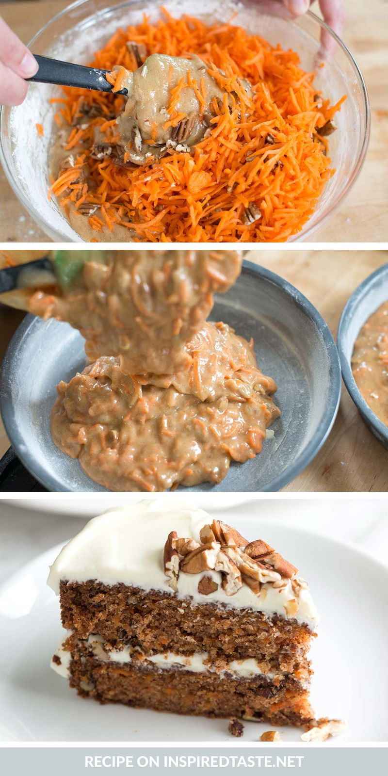 Incredibly Moist And Easy Carrot Cake Recipe Easy Carrot Cake