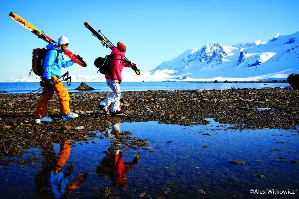 Treck it, ski it, love it! - Aurelien Ducroz and Jackie Paaso - Warren Miller skiers
