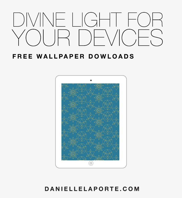 Merkabah Star Digital Wallpapers • Danielle LaPorte: white hot truth +  sermons on life