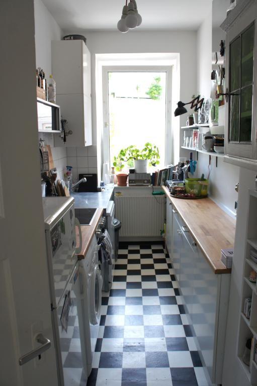 Gemütliche Einbauküche in Münchner Altbauwohnung Wohnen in München