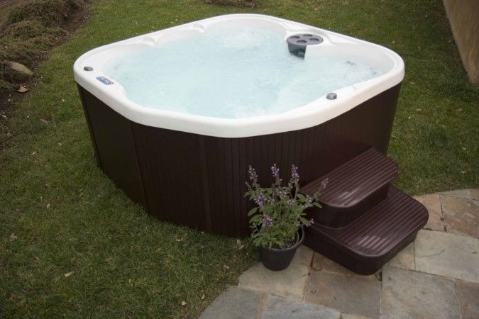 Lifesmart 400dx 5 Person Rock Solid Plug And Play Spa In