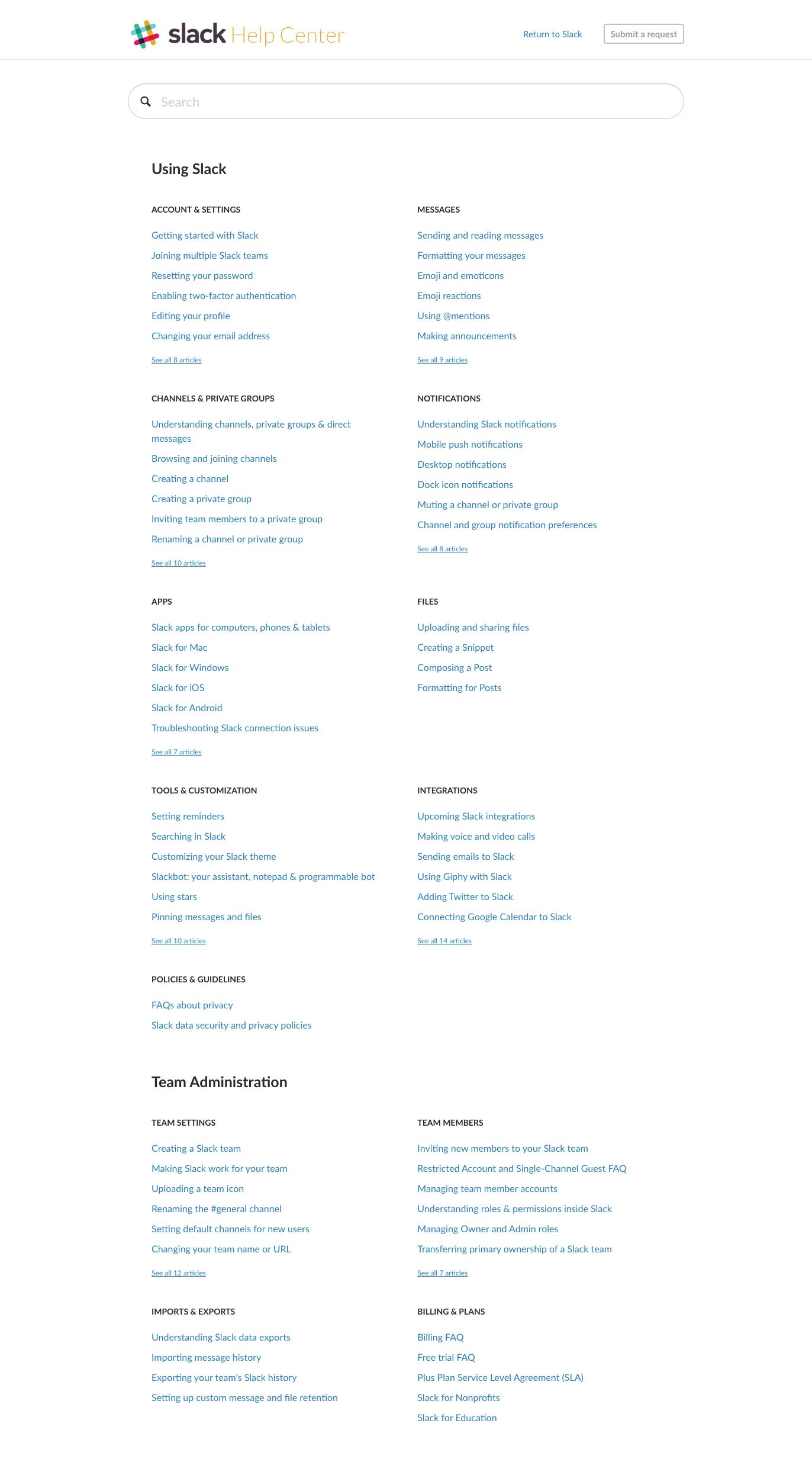 FAQ webdesign list slack Web design, Page design, Help