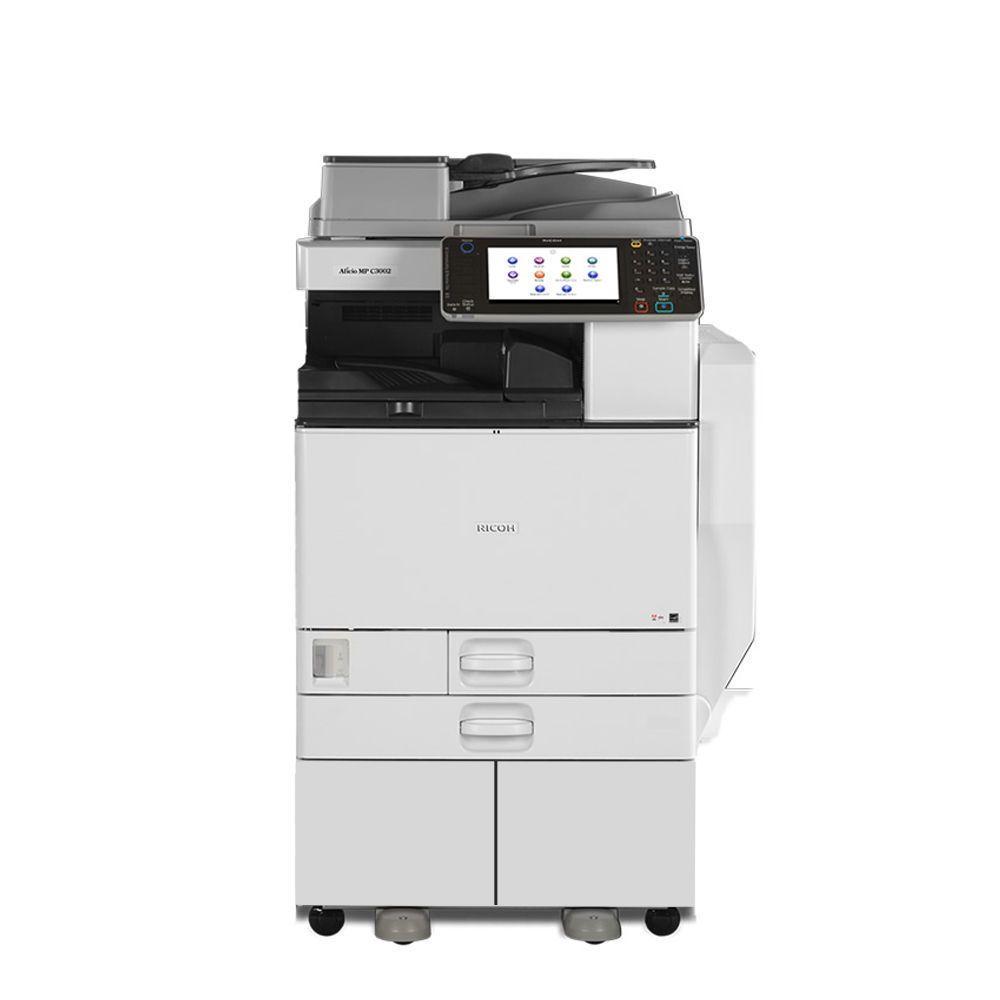 Details About Ricoh Aficio Mp C3002 Copier Scanner Printer