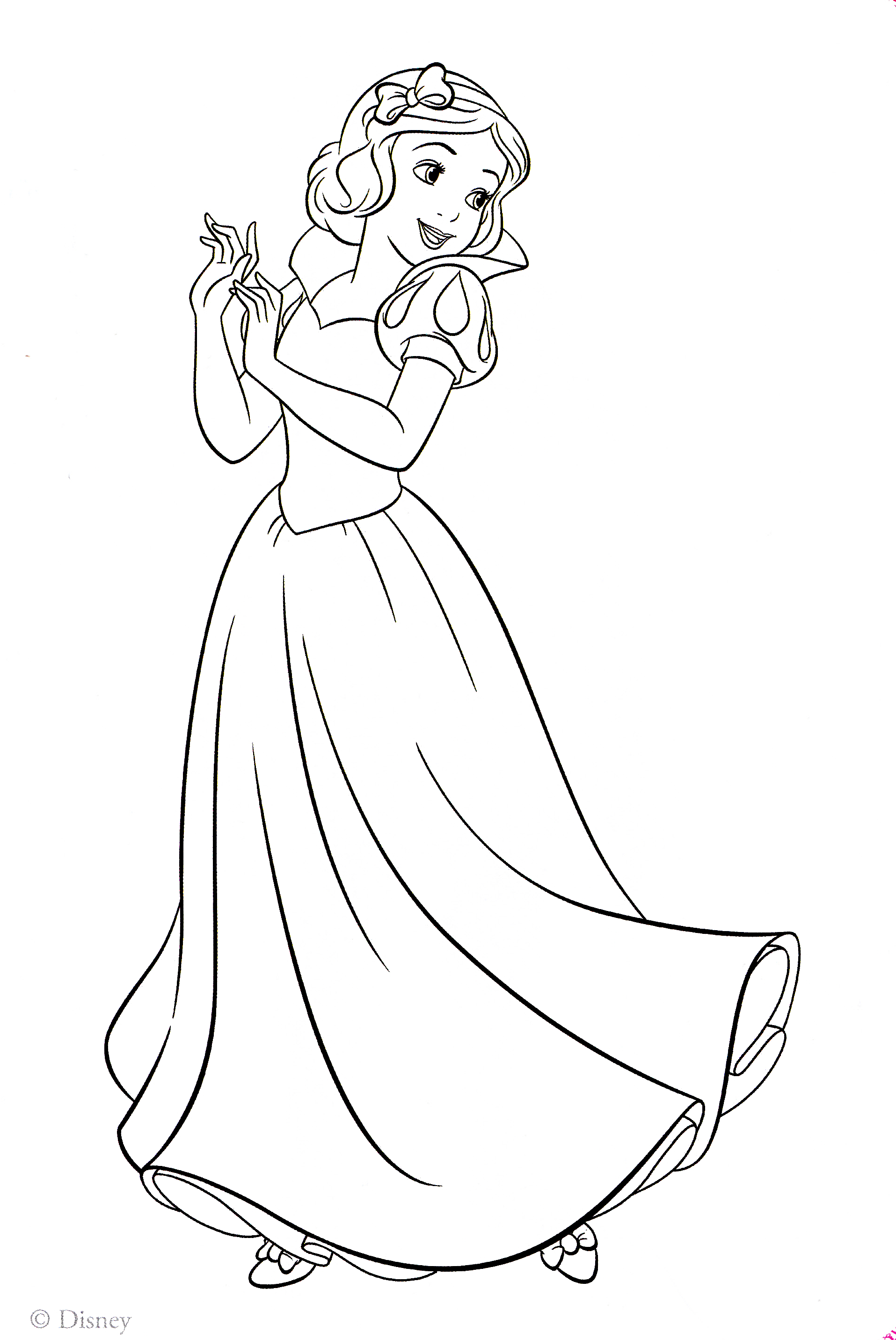 Walt Disney Coloring Pages Princess Snow White Walt Disney Characters Phot Disney Princess Coloring Pages Snow White Coloring Pages Princess Coloring Pages