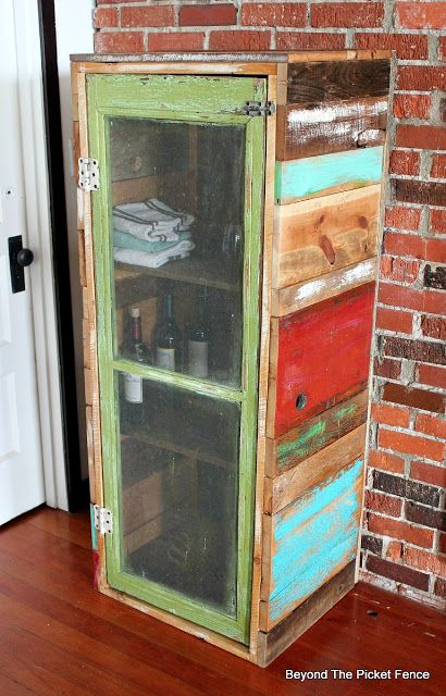 Rustic Jelly Cupboard DIY, Http://bec4 Beyondthepicketfence.blogspot.com