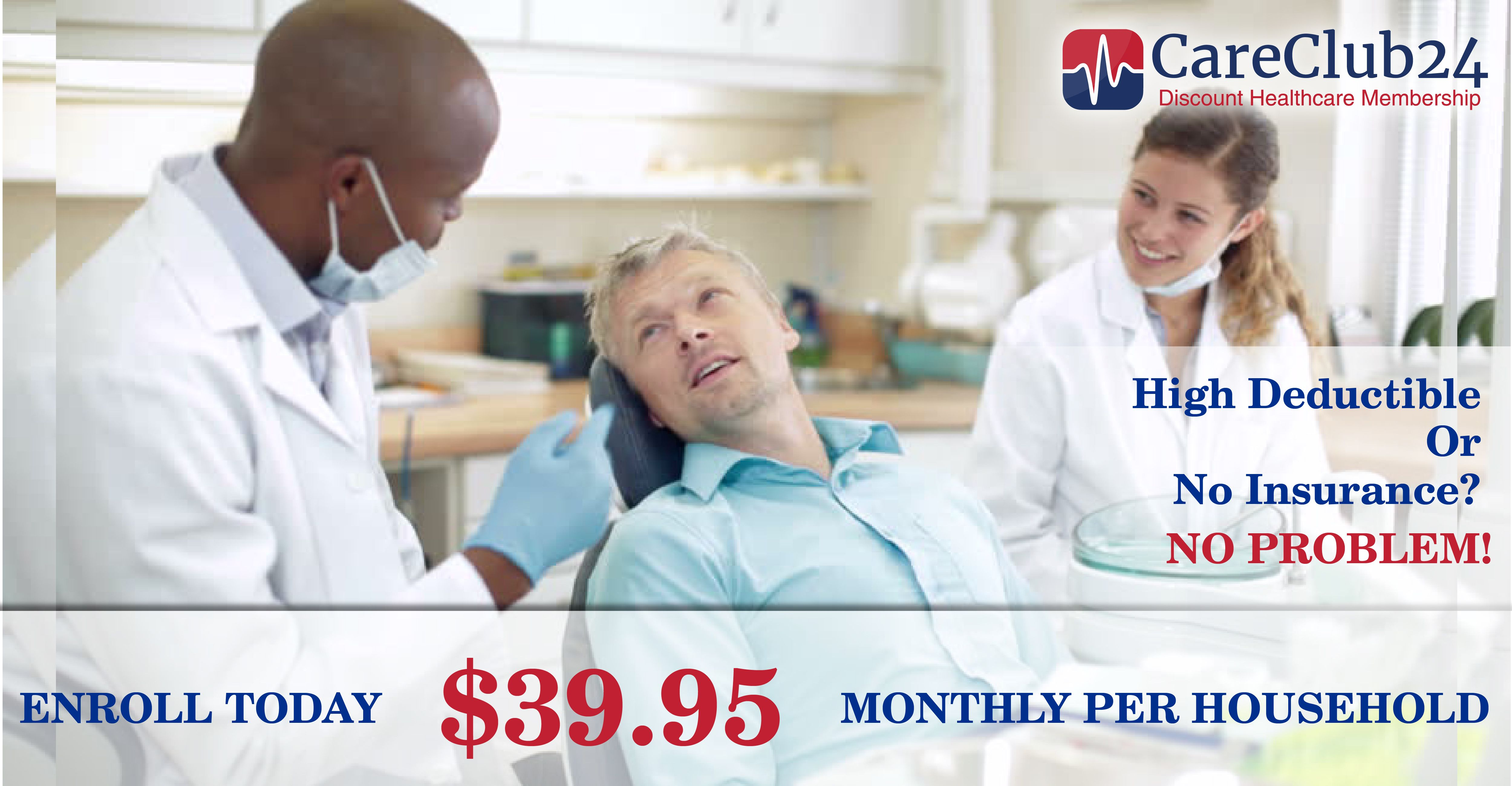 High deductible or no insurance no problem start saving