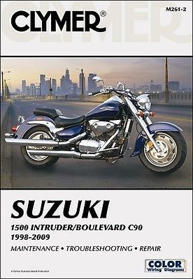 1998-2009 Suzuki Intruder 1500 Boulevard C90 C90T MANUAL - EXCLUSIVE DEAL! BUY NOW ONLY $22.95