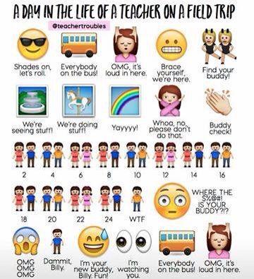 Field Trips Teacher Humor Teaching Humor Classroom Humor