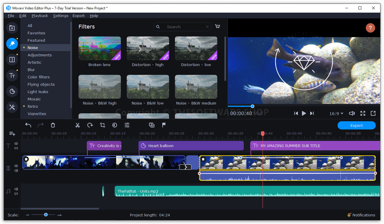 Movavi Video Editor Plus 2021 Review 40 Off Coupon Lifetime License Video Editor Video Graphic Card