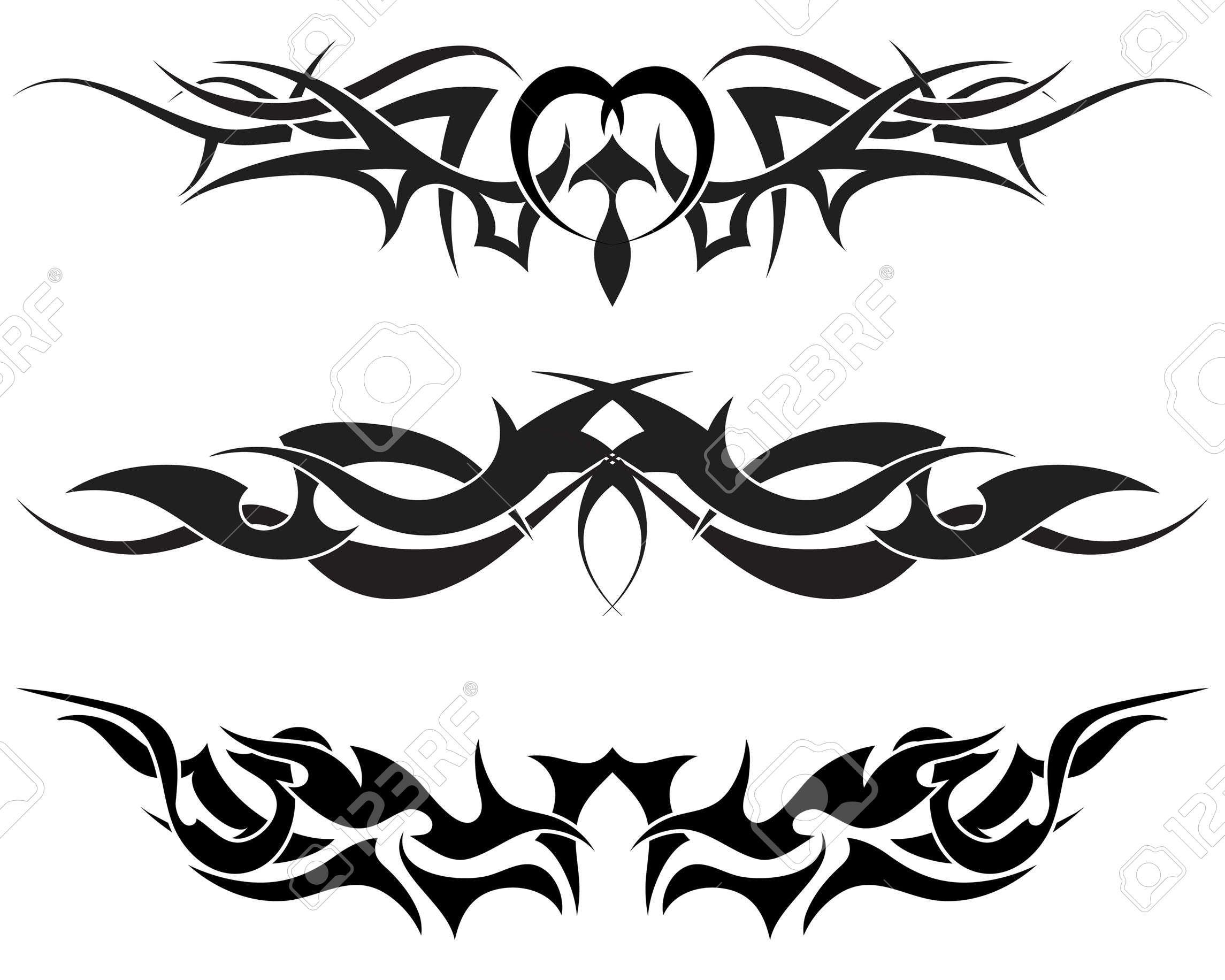 Patterns Of Tribal Tattoo For Design Use Lower Back Tattoo Designs Tribal Tattoo Designs Tribal Tattoos