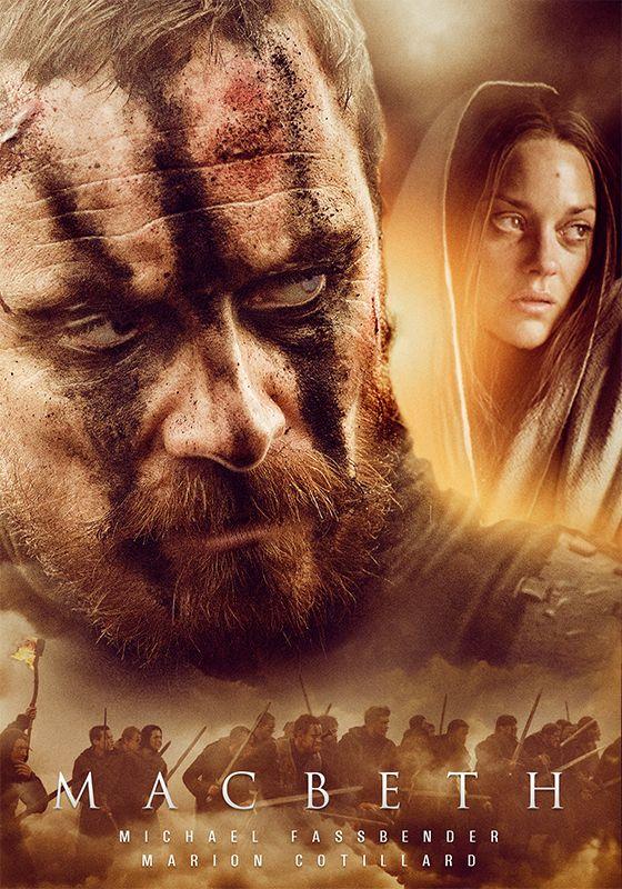 Macbeth Movie Poster Michael Fassbender as Macbeth | Remake Movie